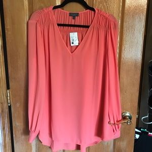 The Limited NWT Coral Blouse